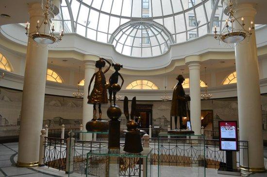Moscow Marriott Grand Hotel: main atrium
