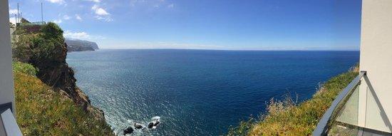 Estalagem Ponta do Sol: Ausblick vom Zimmer aufs Meer