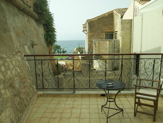 Casa Veneta: View from our private terrace off our room