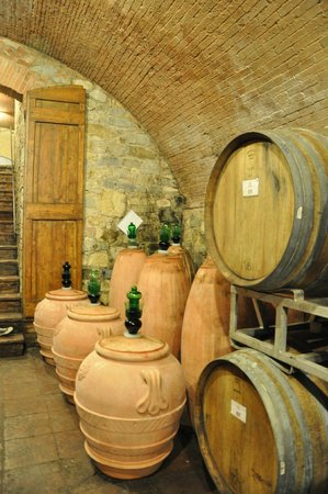 Tuscan Wine Tours by Grape Tours : Wine maturing in vats