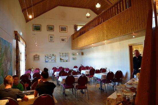 Lamb Inn Ongulsstadir : The dining room