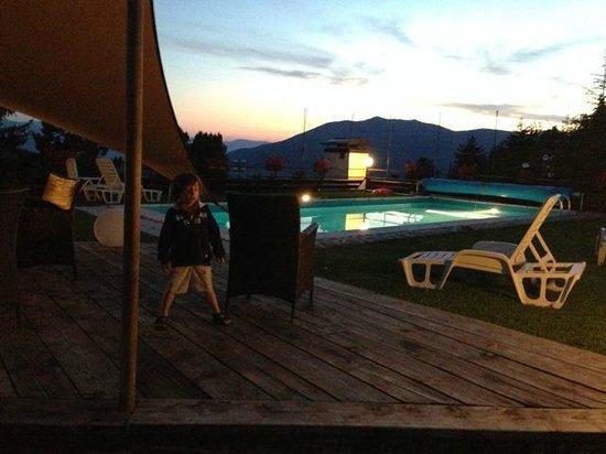 Hotel Nido dell'Aquila: Pool at the Hotel Nido