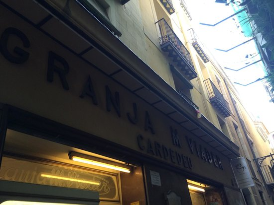 Cafe Granja Viader: Entrata