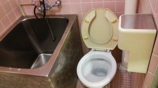Tsukuba Hotel : バス?トイレ