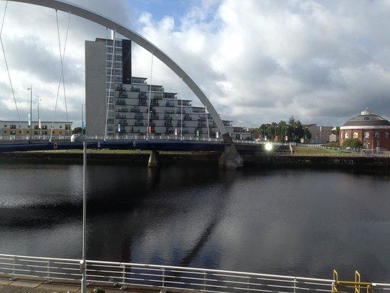 Hilton Garden Inn Glasgow City Centre: Our view!