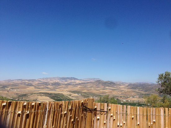 Hidden Valley Andalucia : The veiw fromt the top
