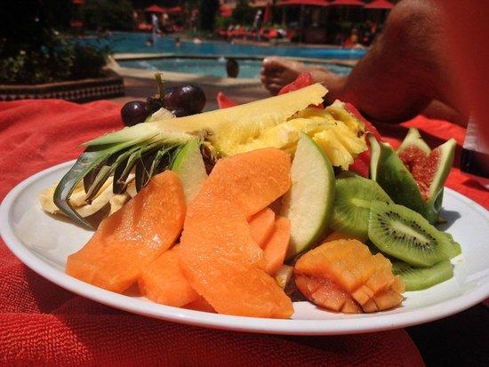 Sofitel Marrakech Palais Imperial : Salade de fruits l'Oasis