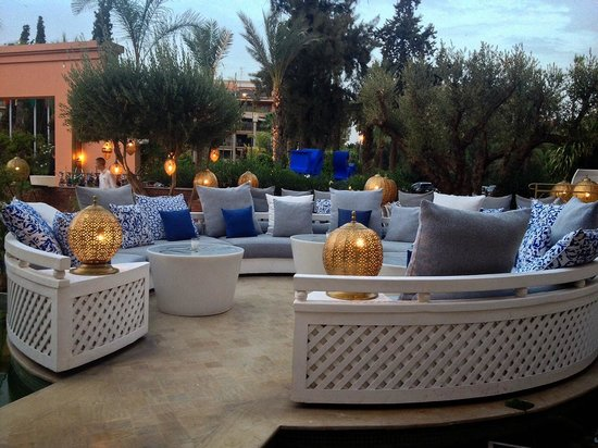 Sofitel Marrakech Palais Imperial: Restaurant Lounge