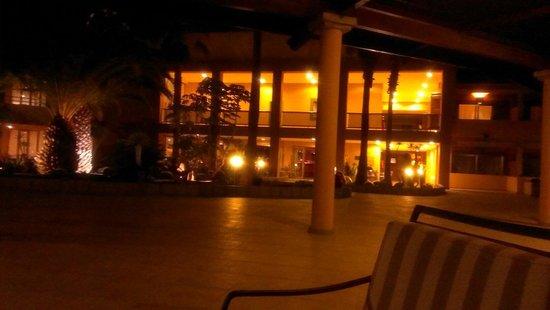 Iberostar Fuerteventura Palace: En la terraza, donde tomar copas por la noche