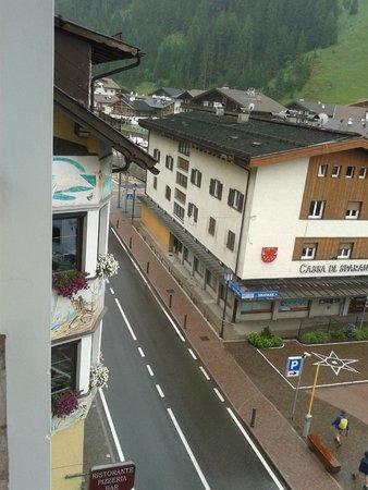Hotel Stella: Panorama dalla stanza (IV piano)