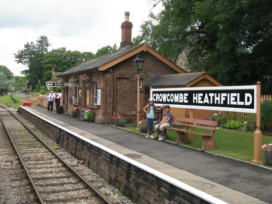 West Somerset Railway: Crowcombe Heathfield up platform
