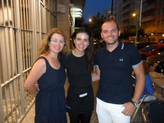 Meson Guadalquivir: La bella e brava Arancha!