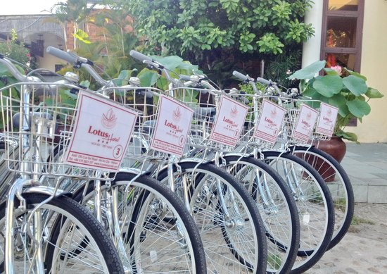 Lotus Hoi An Boutique Hotel & Spa: Free Bicycle