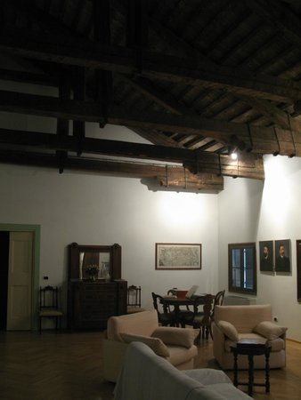 Agriturismo Barchessa Este: Common room, library
