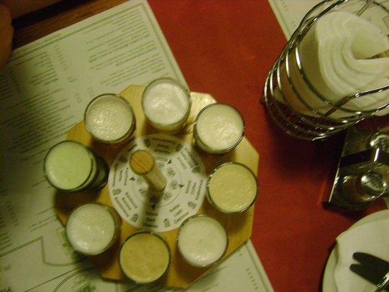 Pivovarsky dum : assaggi delle 8 birre