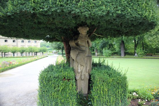 Die Residenz: Residence Palace Garden