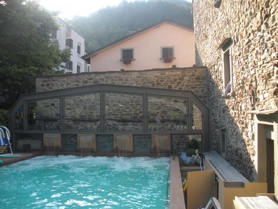 Piscina Termale All Aperto Picture Of Hotel Terme Santa
