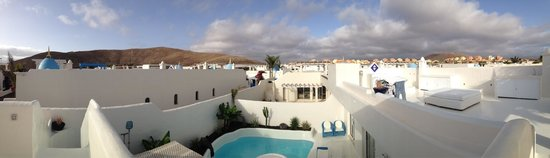 Katis Villas Boutique Fuerteventura : View from the roof terrace
