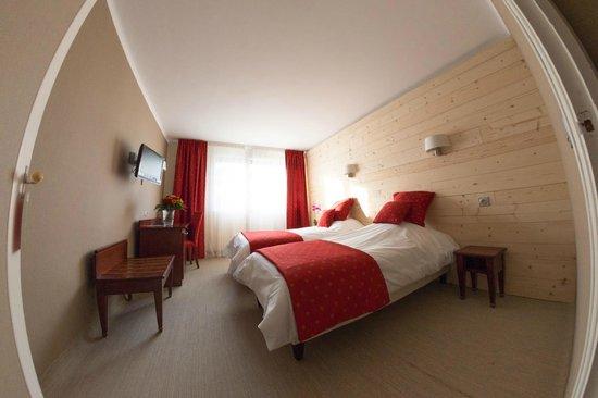 Hôtel Vauban Briançon : Chambre Twin