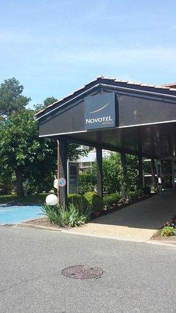 Novotel Resort & Spa Biarritz Anglet : net entree