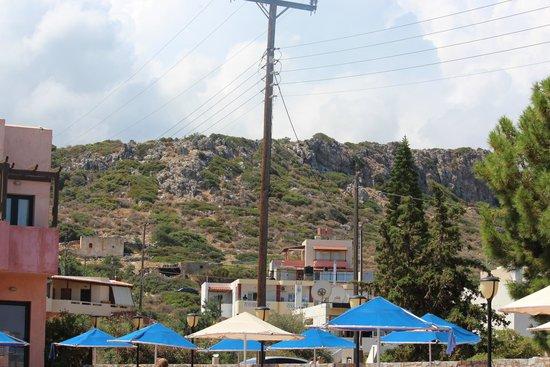 SENTIDO Vasia Resort & Spa : views from pool area