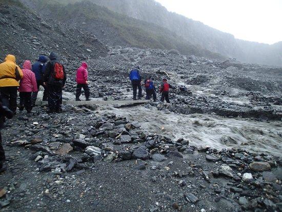 Fox Glacier Guiding: The hike .