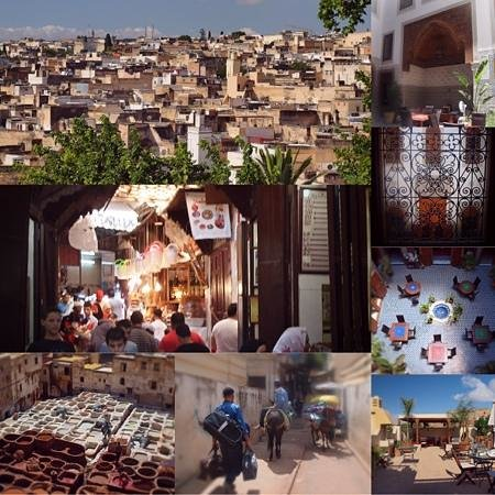 Dar Roumana and views of Fes