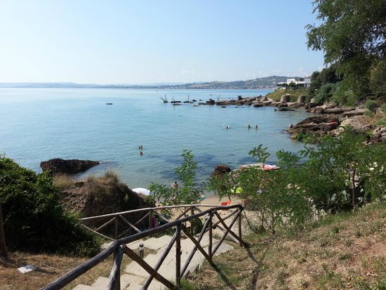 Camping Residence Uliveto: Spiaggia