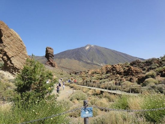 Alborada Beach Club: El Teide (volcan)
