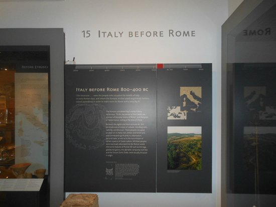 Ashmolean Museum of Art and Archaeology: Sezione italiana