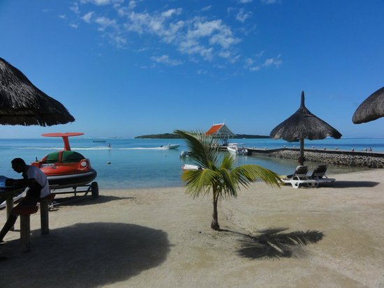 Preskil Beach Resort: vu sur la plage
