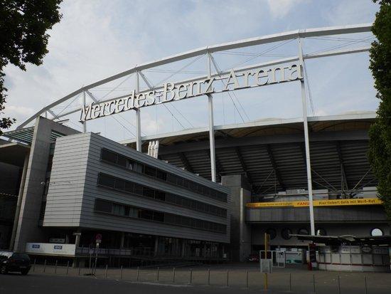 Foto de mercedes benz arena stuttgart tripadvisor for Hotels mercedes benz stadium