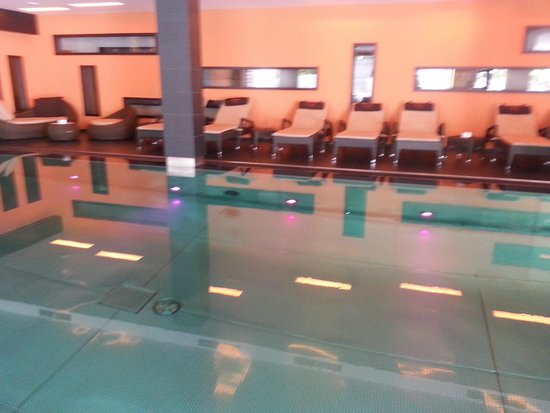 Hotel Monika: piscina interna centro benessere