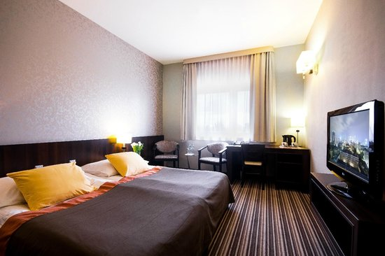 Park Hotel Diament Wroclaw: Double room