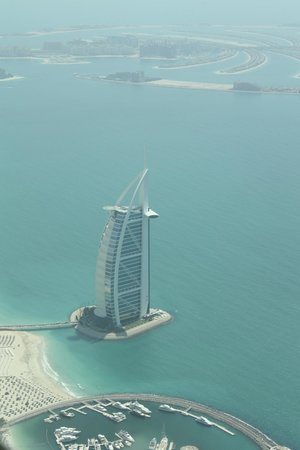 Seawings Seaplane Tours: Burj al arab