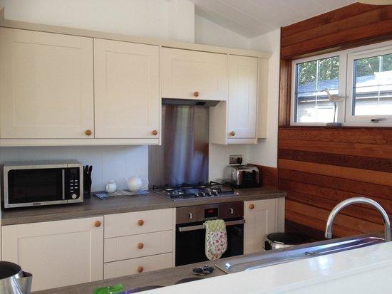 Mullion Cove Lodge Park: Kitchen area