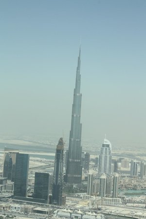Seawings Seaplane Tours: Burj Khalifia