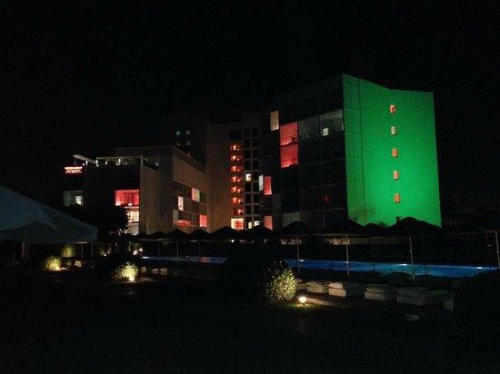 Hotel SU : gioco di colori dell hotel