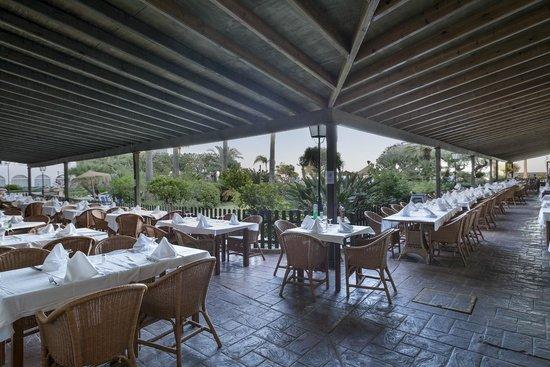 Hotel Best Mojacar: Terraza restaurante Best Mojacar
