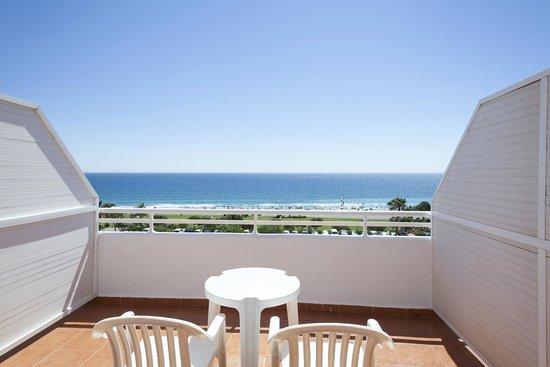 Hotel Best Mojacar: Terraza vista mar Best Mojacar