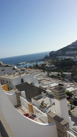 Cabau Cala Nova : Cala Nova hotel - view from 8th floor balcony