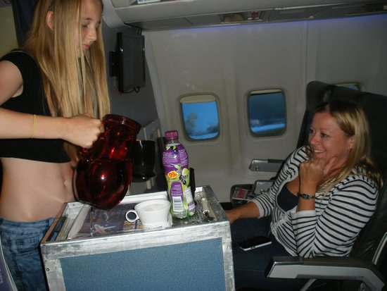 Flightdeck Experience: Passengers enjoying the flight