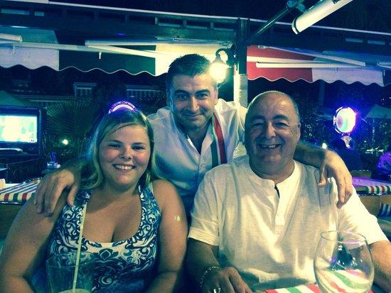 Coco Beach Restaurant : Hakki, friendly, as ever ��