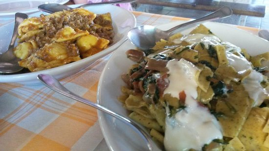Azienda Agrituristica Le Cascine: Tortelli e Maltagliati veramente speciali!