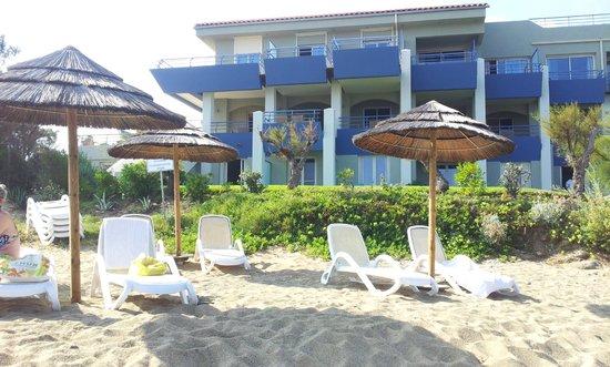 Best Western Santa Maria : L'albergo lato spiaggia