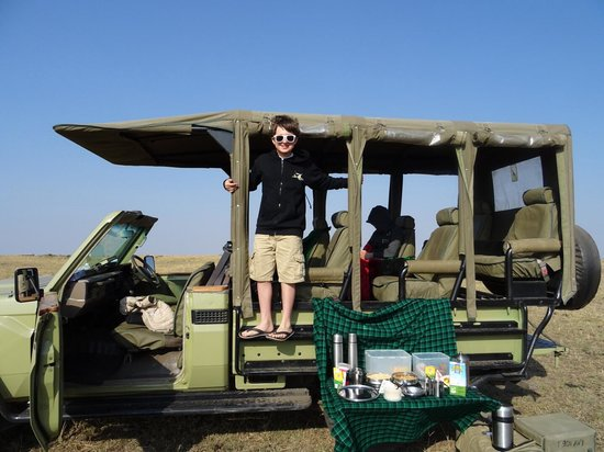 Sayari Camp, Asilia Africa : Breakfast