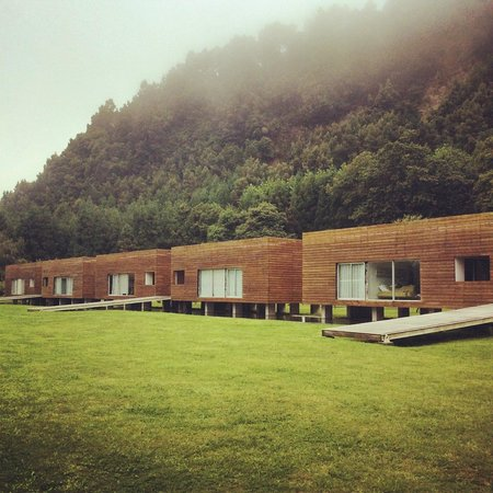 Furnas Lake Villas : The apartments, we were in the one on the right.