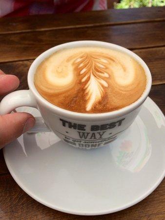 Cafe Safak: Caffe latte