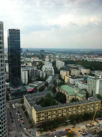InterContinental Warszawa : InterContinental #3507 Room with a view