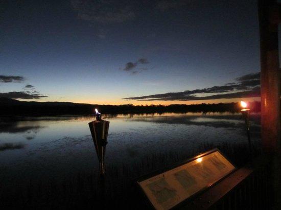 Jabiru Safari Lodge: View from Lodge sunset